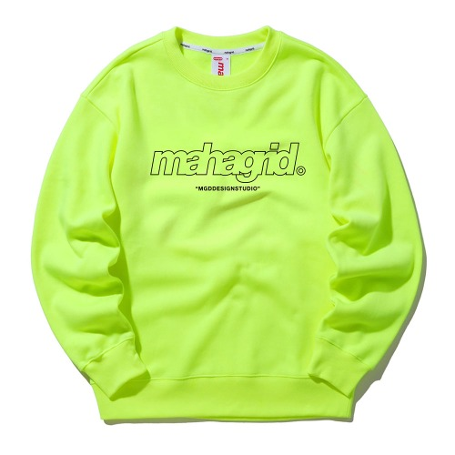 THIRD LOGO CREWNECK[LIME]
