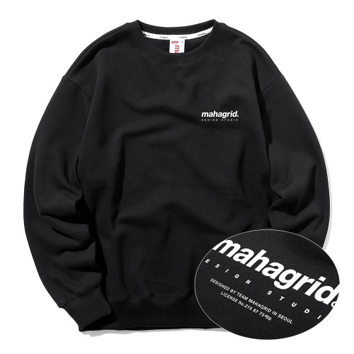 ORIGIN LOGO CREWNECK[BLACK]
