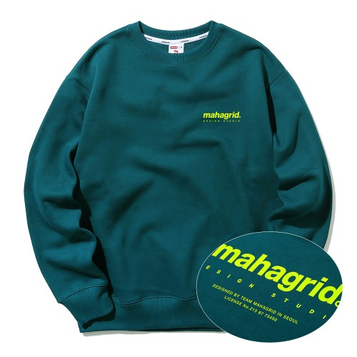 ORIGIN LOGO CREWNECK[GREEN]