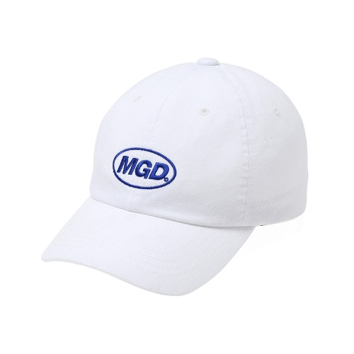 MGD WASHED B.B CAP[WHITE]