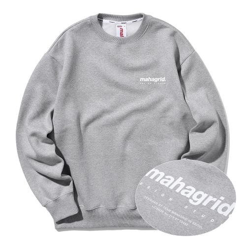 ORIGIN LOGO CREWNECK[GREY]