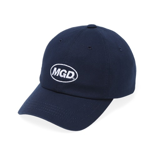 MGD WASHED B.B CAP[NAVY]