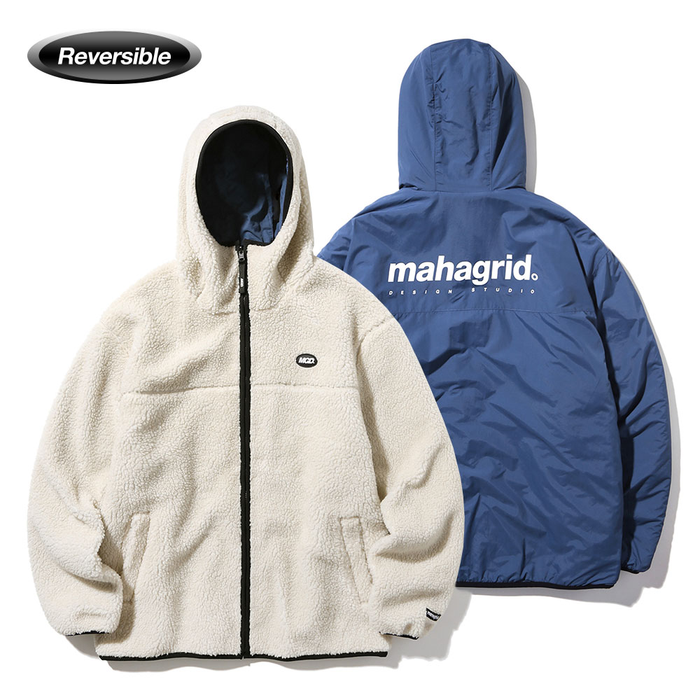 REVERSIBLE FLEECE PARKA[IVORY]