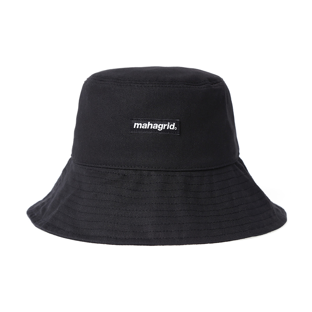 BASIC LOGO BUCKET HAT[BLACK]