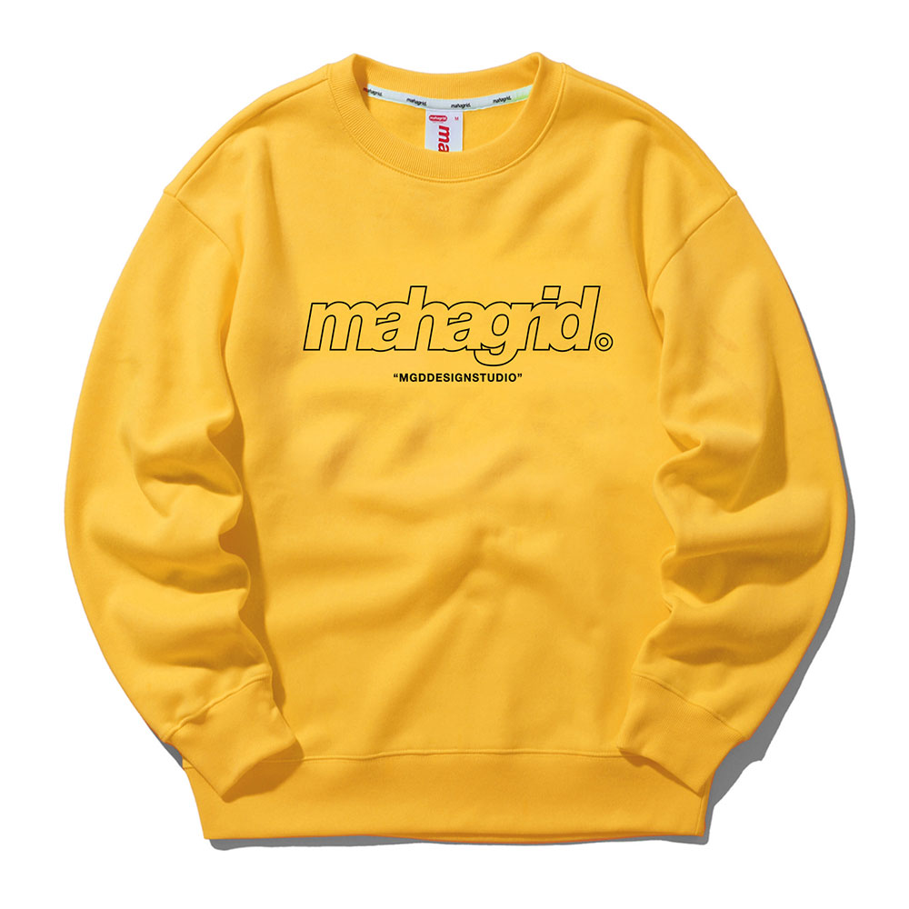 THIRD LOGO CREWNECK[YELLOW]