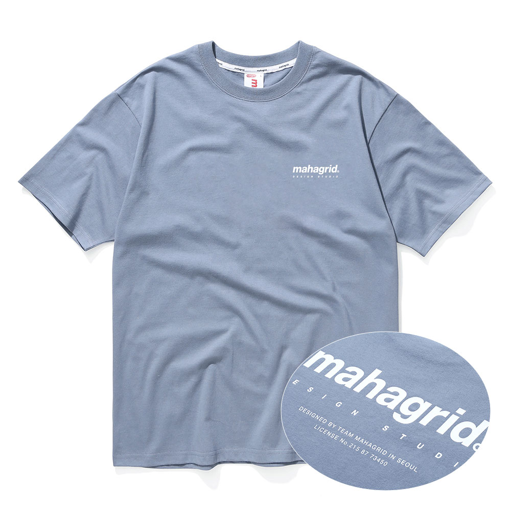 ORIGIN LOGO TEE[BLUE]