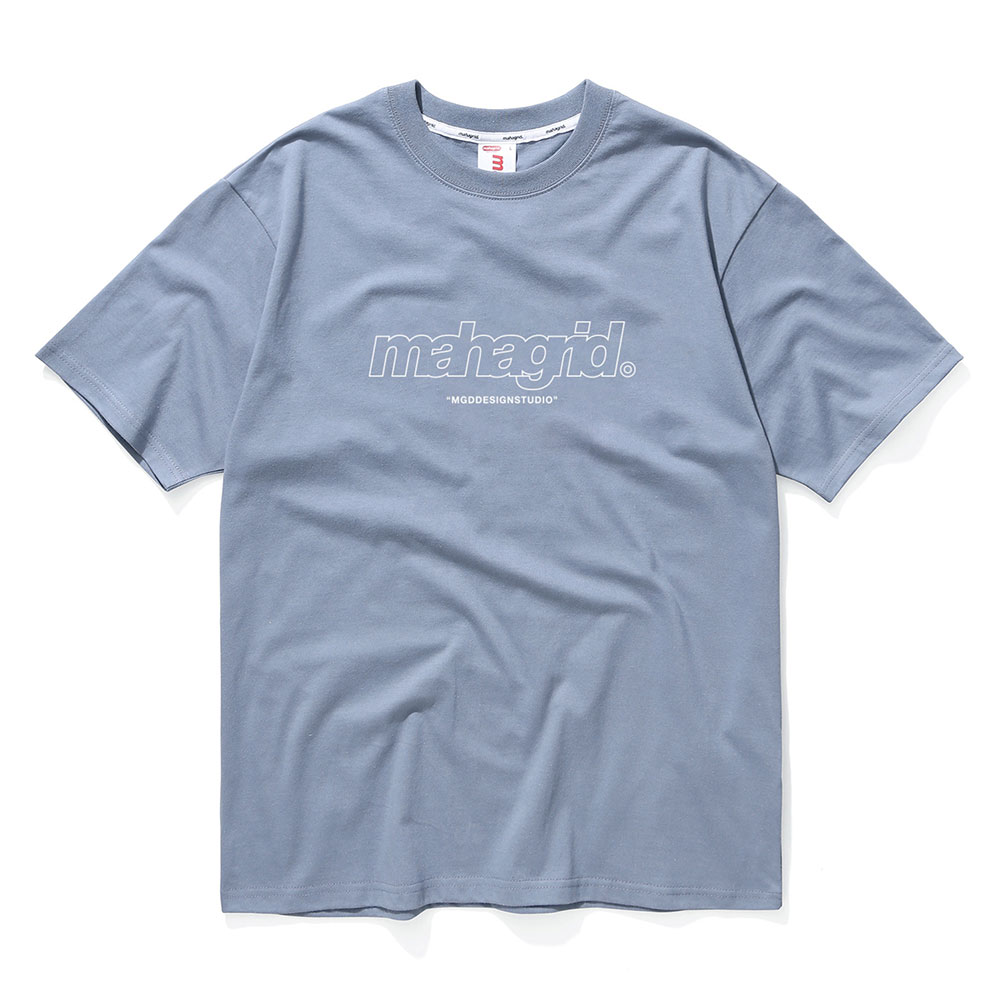 THIRD LOGO TEE[BLUE]