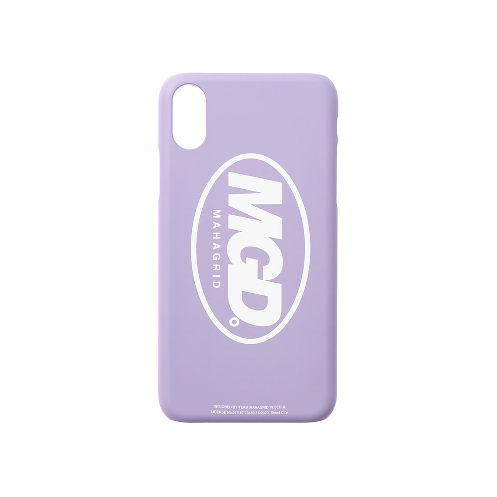 MGD iPHONE XS CASE[PURPLE]