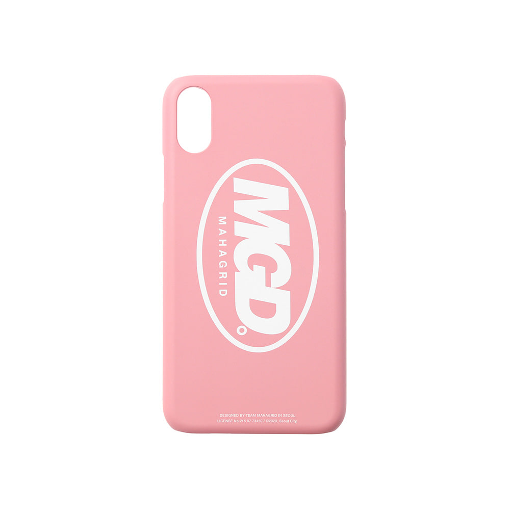 MGD iPHONE XS CASE[PINK]