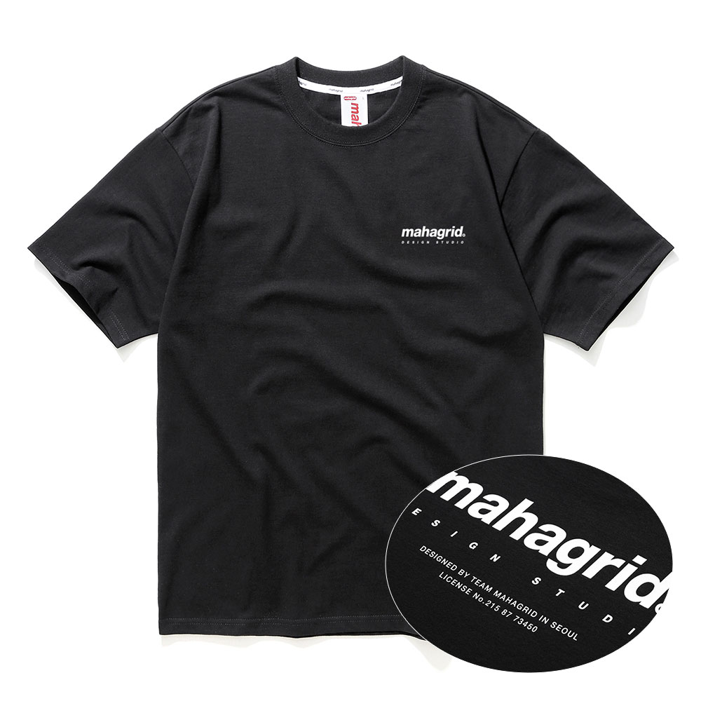 ORIGIN LOGO TEE[BLACK]