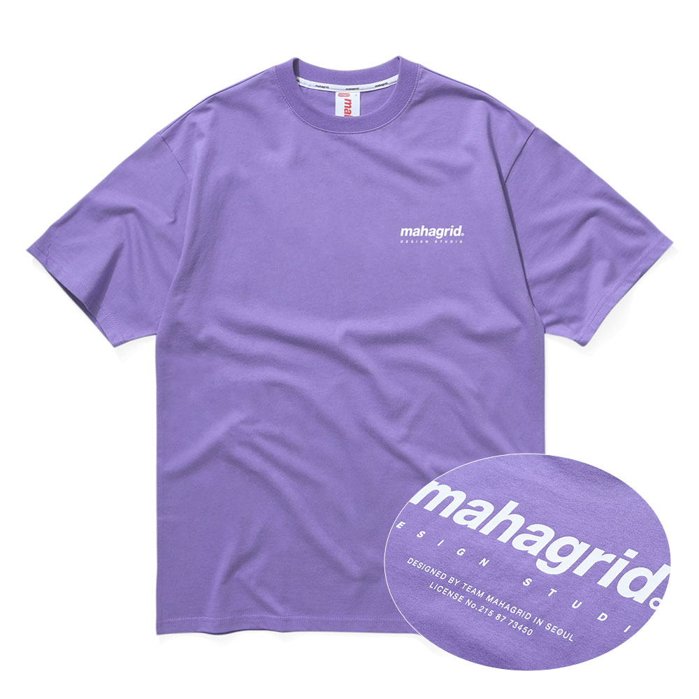 ORIGIN LOGO TEE[PURPLE]