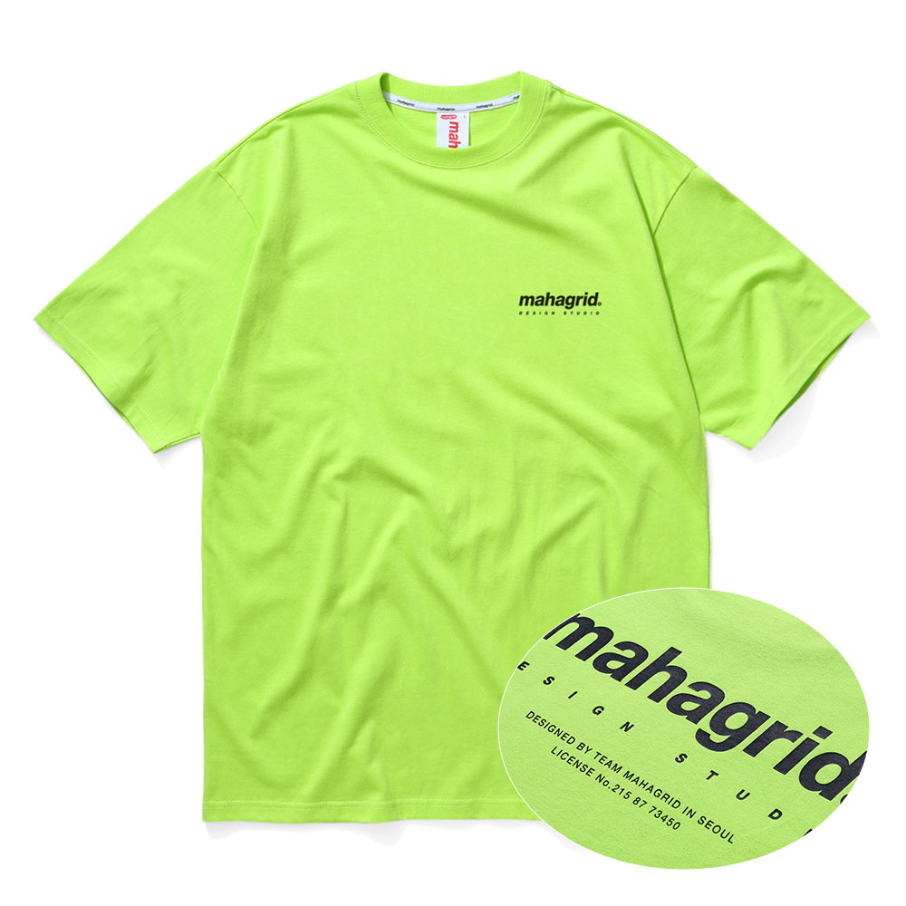 ORIGIN LOGO TEE[LIME]