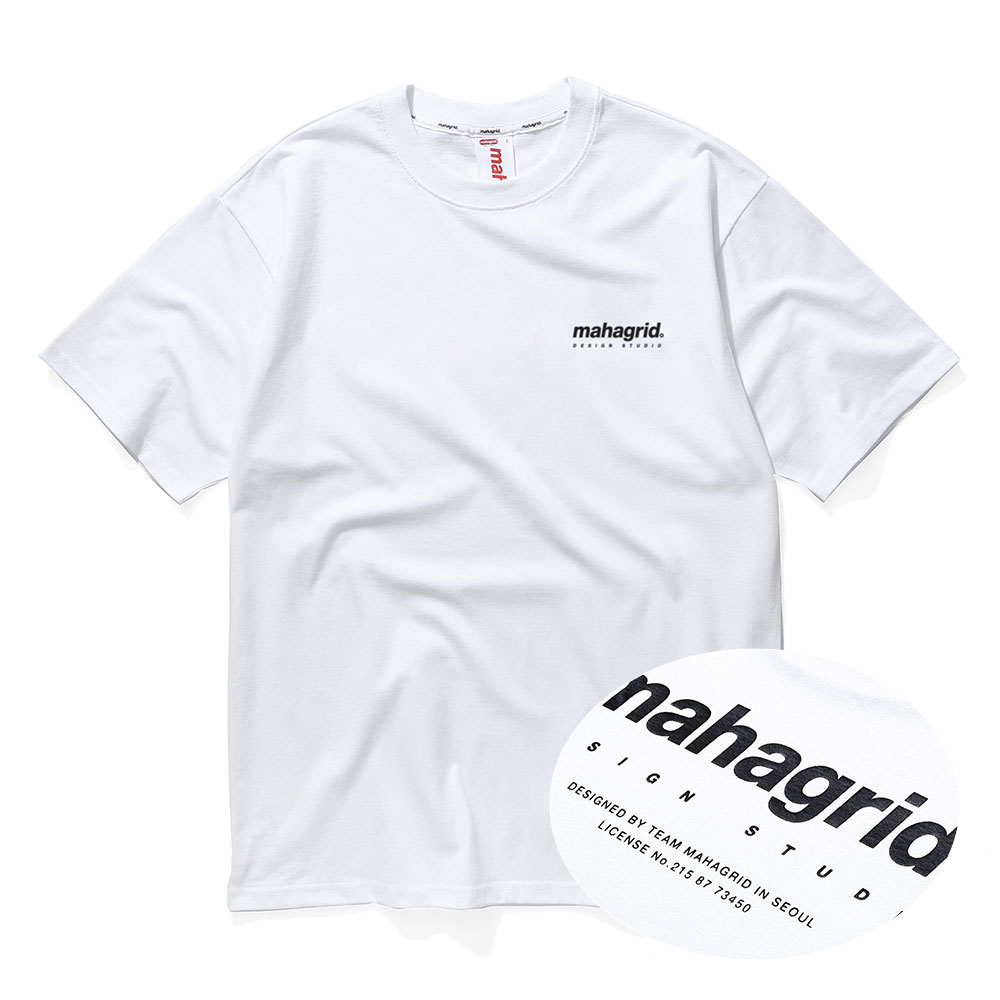 ORIGIN LOGO TEE[WHITE]