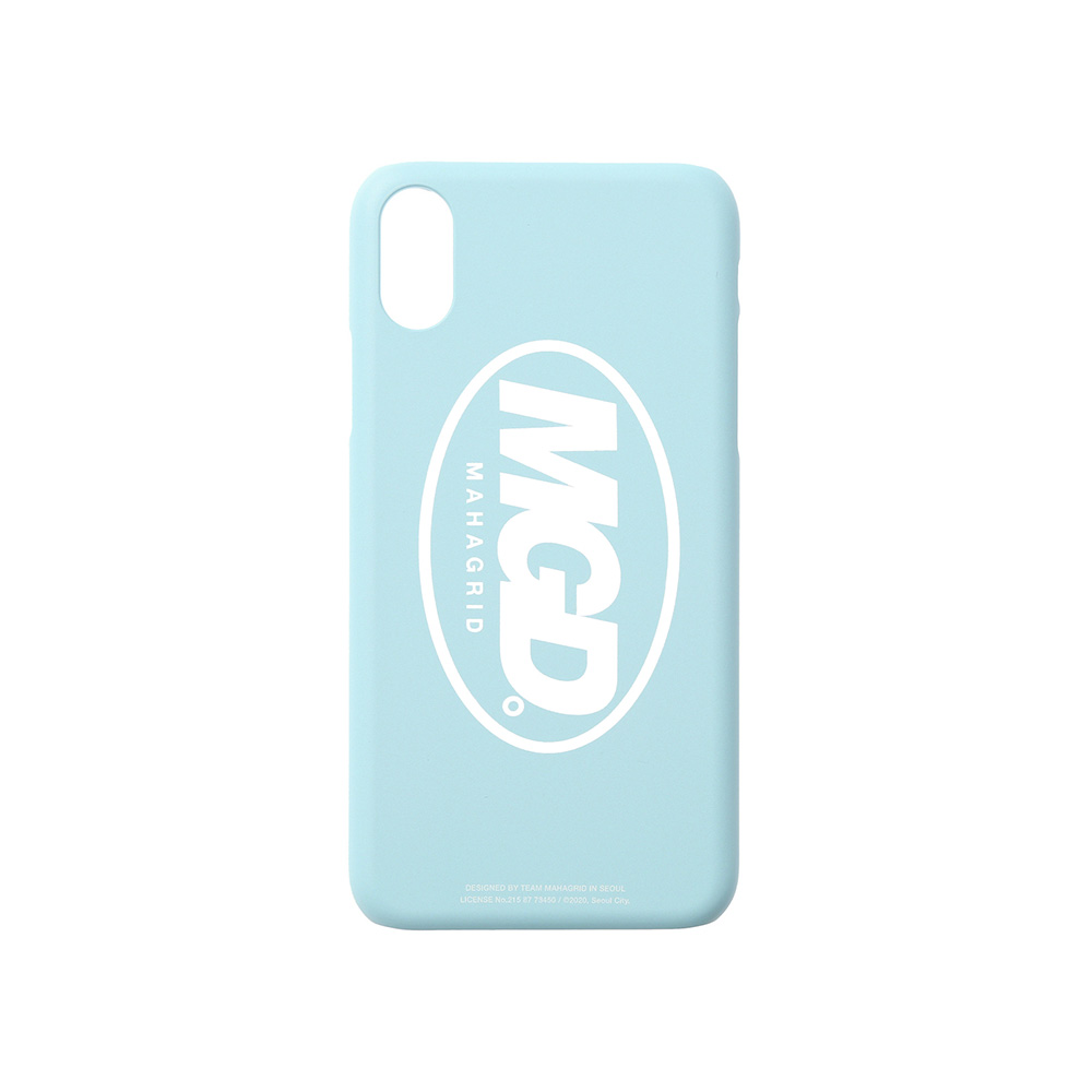 MGD iPHONE XS CASE[BLUE]