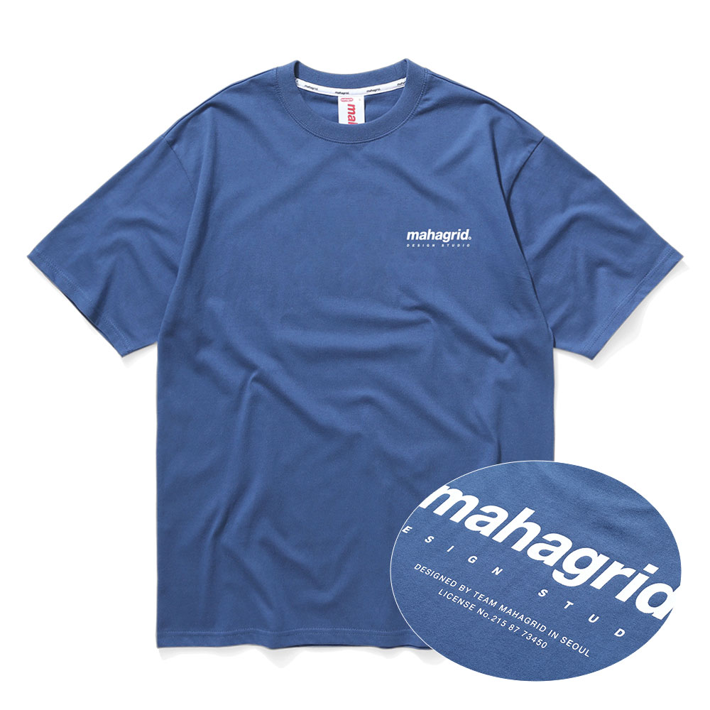 ORIGIN LOGO TEE[NAVY]