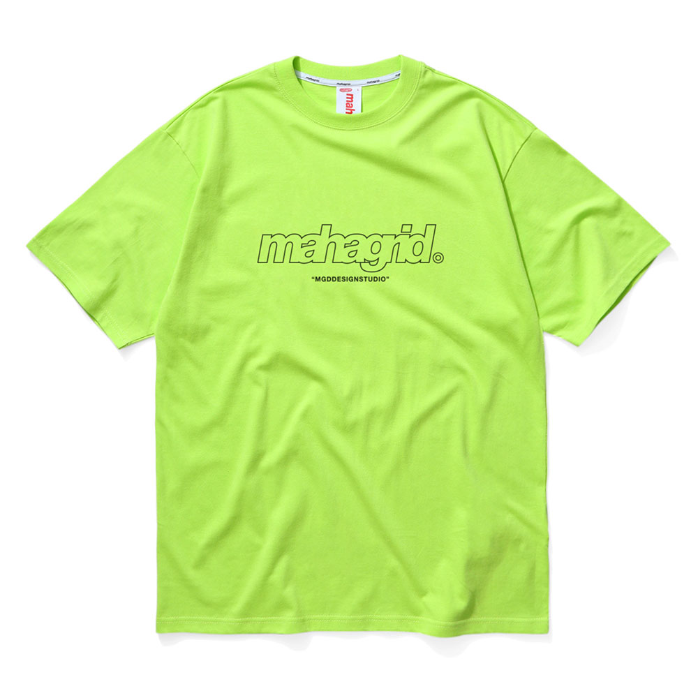 THIRD LOGO TEE[LIME]