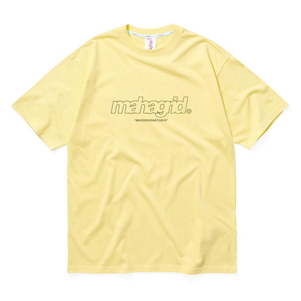 THIRD LOGO TEE[YELLOW]