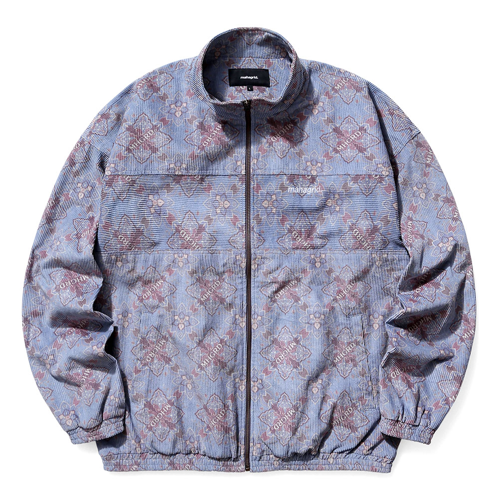 CORDUROY TRACK TOP[BLUE]