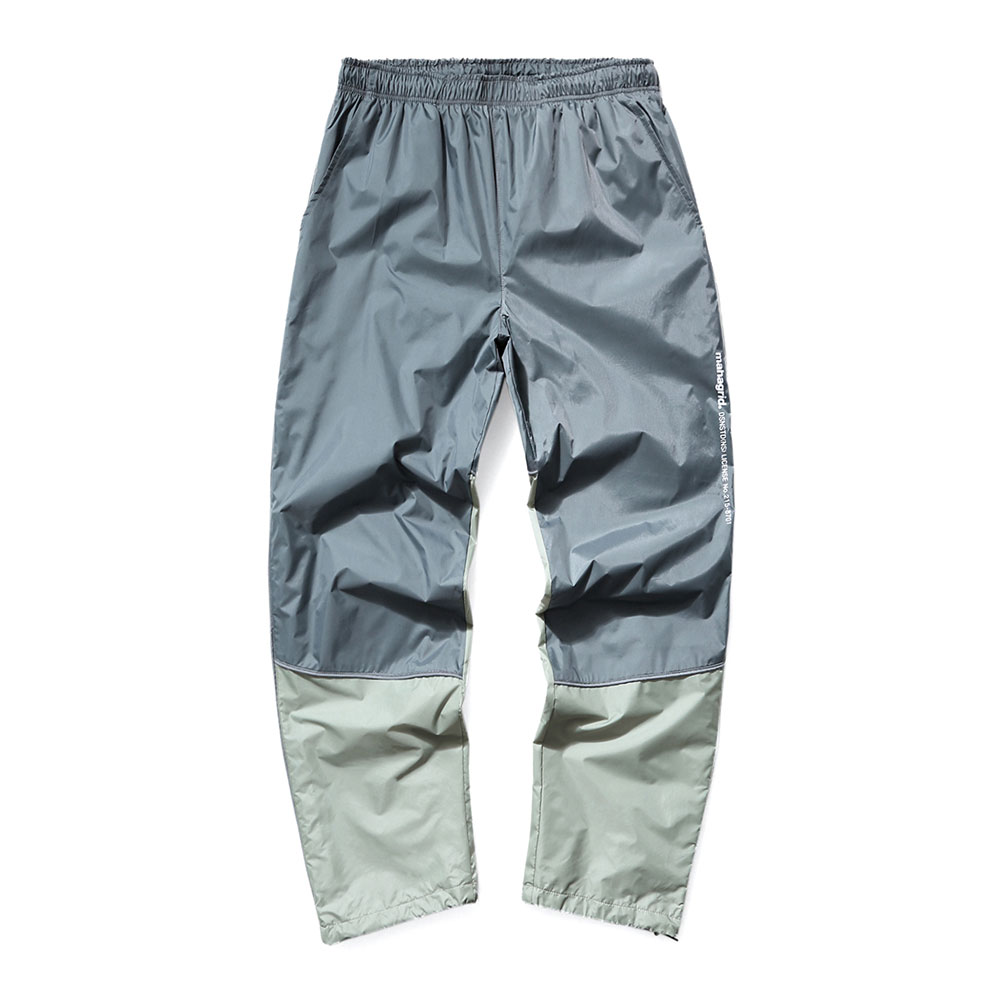 REFLECTIVE TRACK PANTS[GREY]
