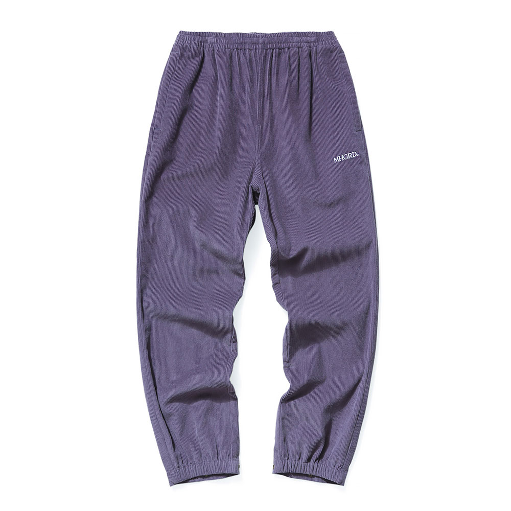 CORDUROY TRACK PANTS[PURPLE]