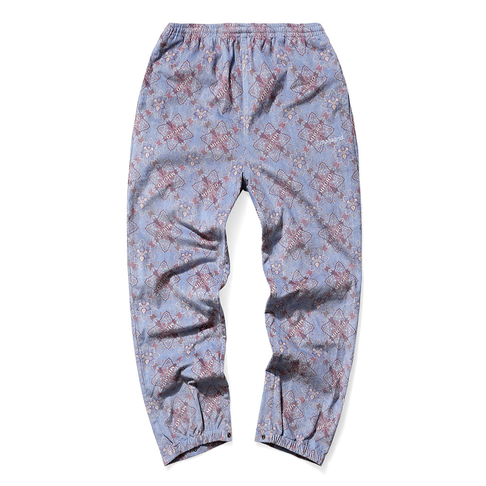 CORDUROY TRACK PANTS[BLUE]