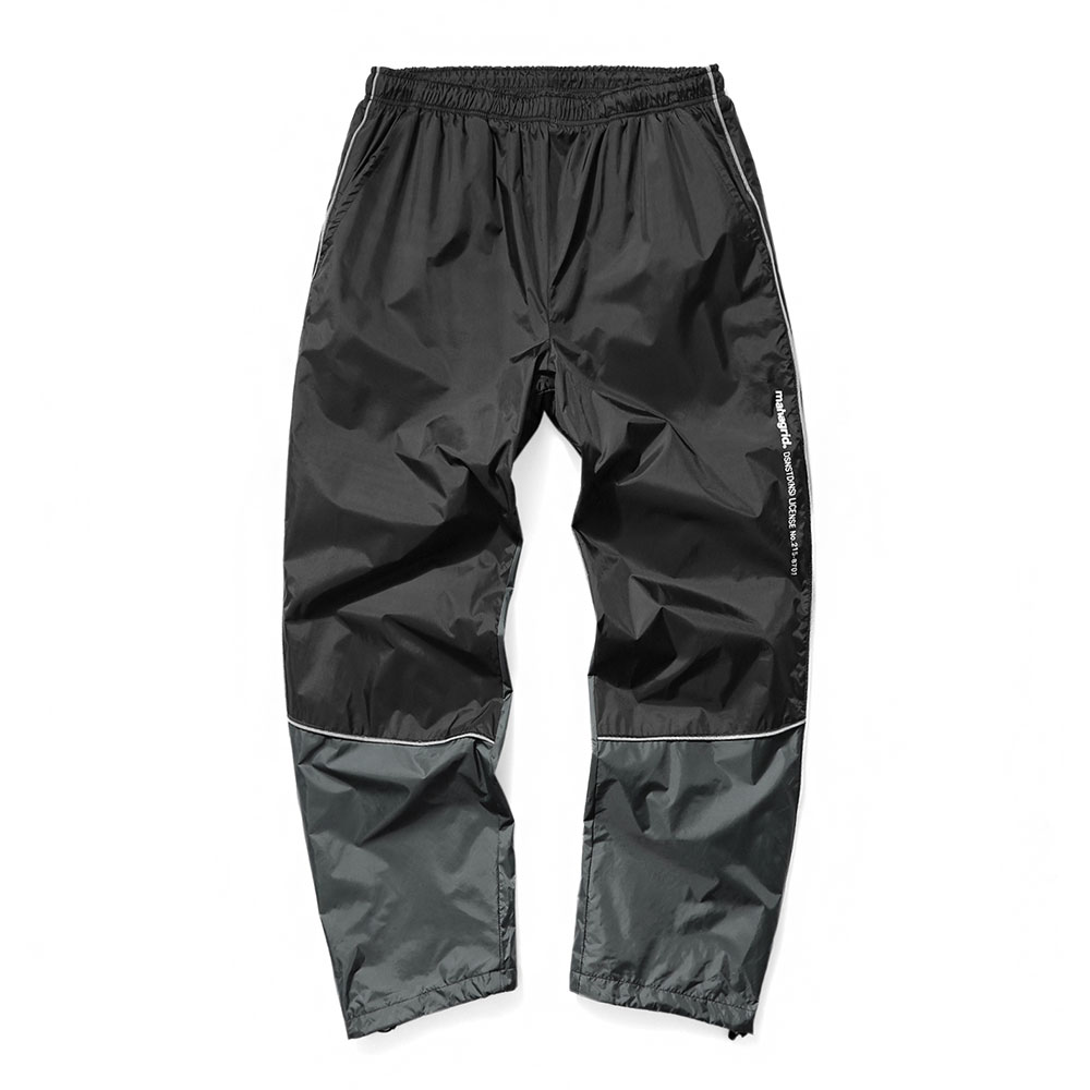 REFLECTIVE TRACK PANTS[BLACK]