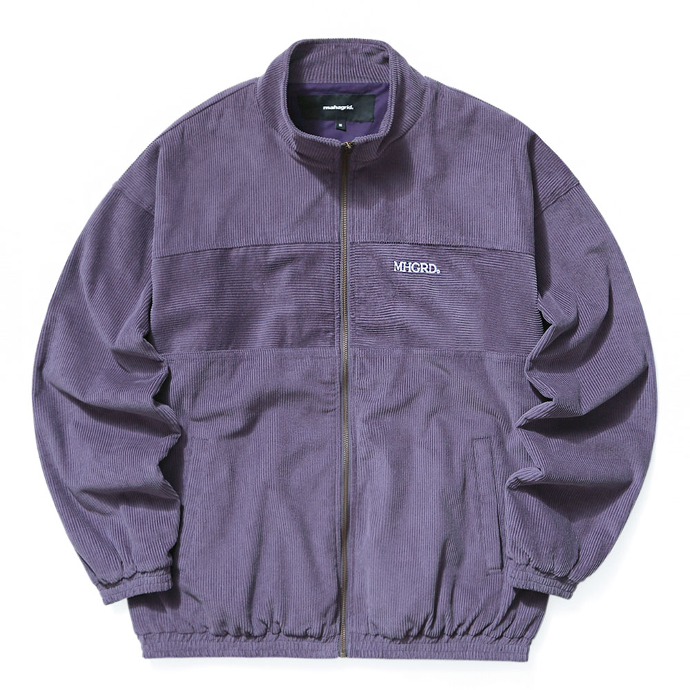 CORDUROY TRACK TOP[PURPLE]