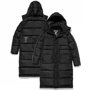 VULCAN LONG DOWN PARKA[BLACK]