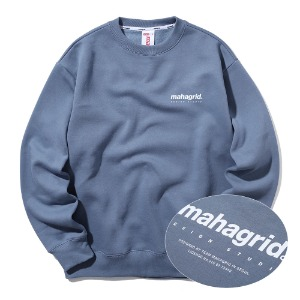 ORIGIN LOGO CREWNECK[BLUE]