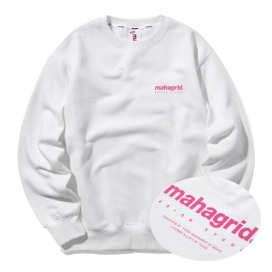 ORIGIN LOGO CREWNECK[WHITE]