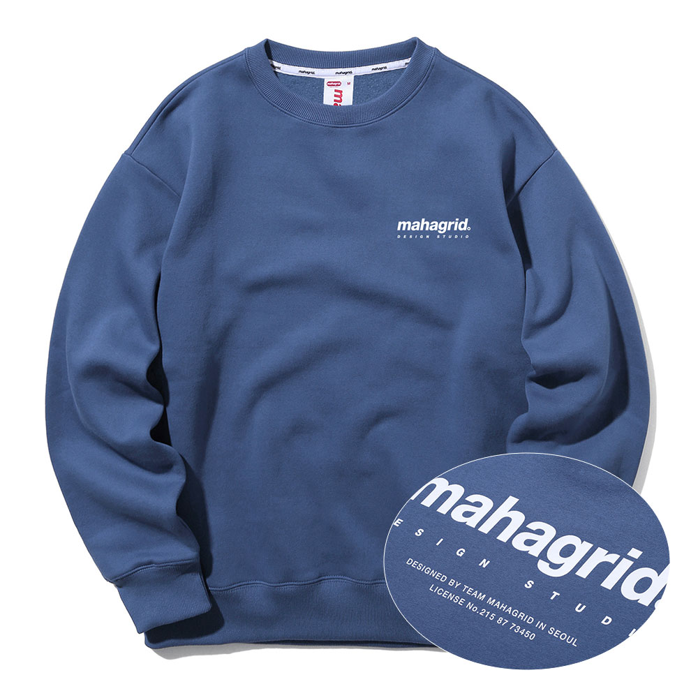 ORIGIN LOGO CREWNECK[NAVY]