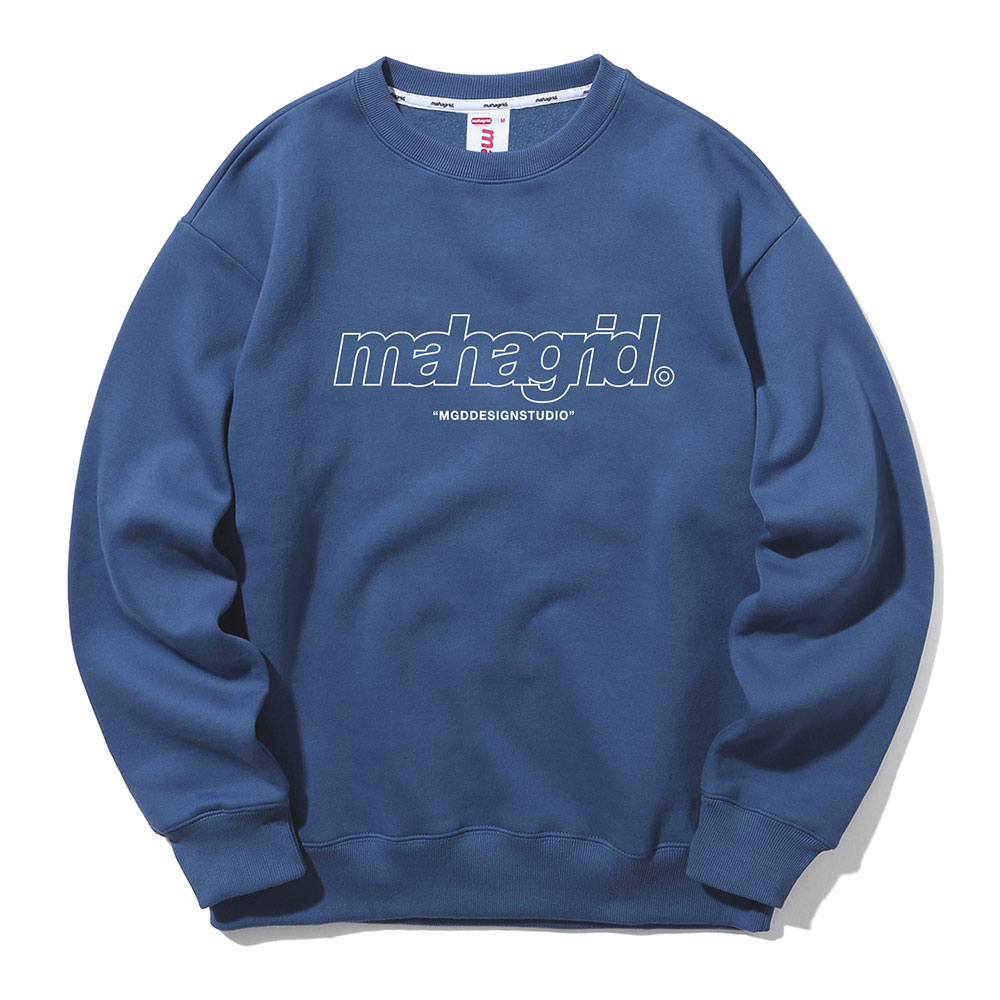 THIRD LOGO CREWNECK[NAVY]