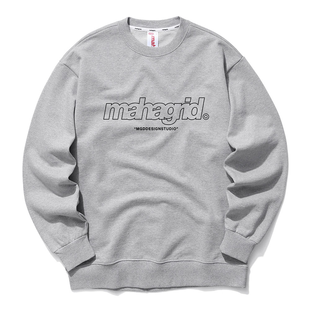 THIRD LOGO CREWNECK[GREY]