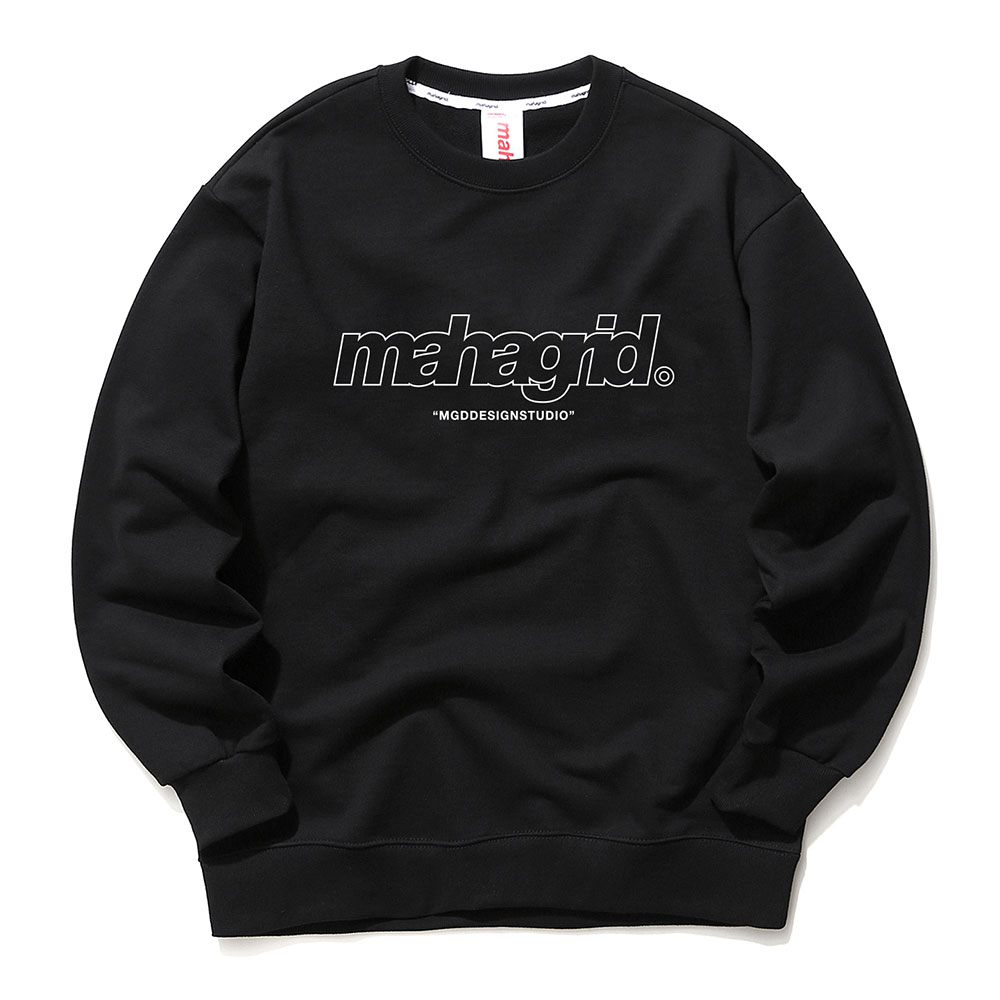 THIRD LOGO CREWNECK[BLACK]