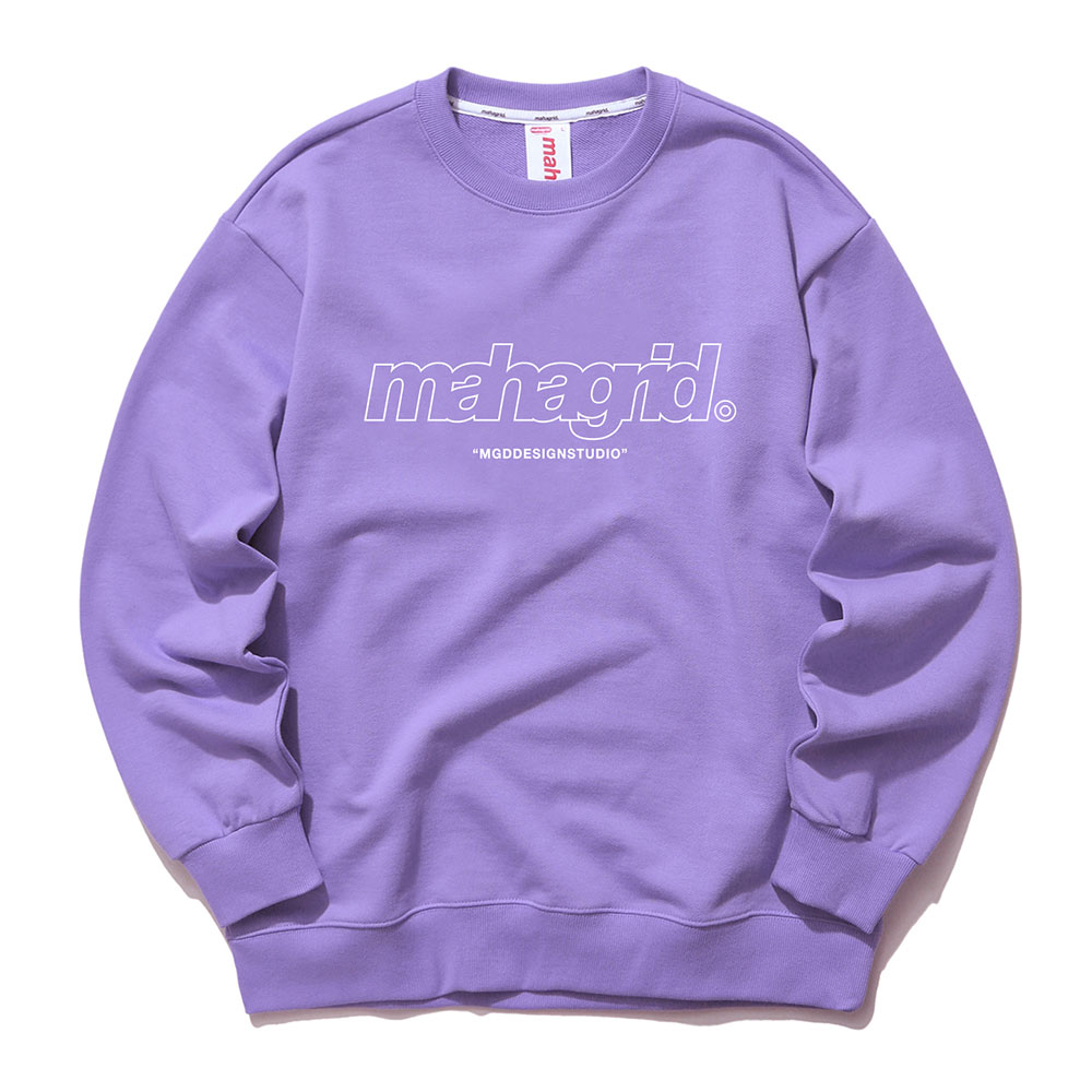 THIRD LOGO CREWNECK[PURPLE]