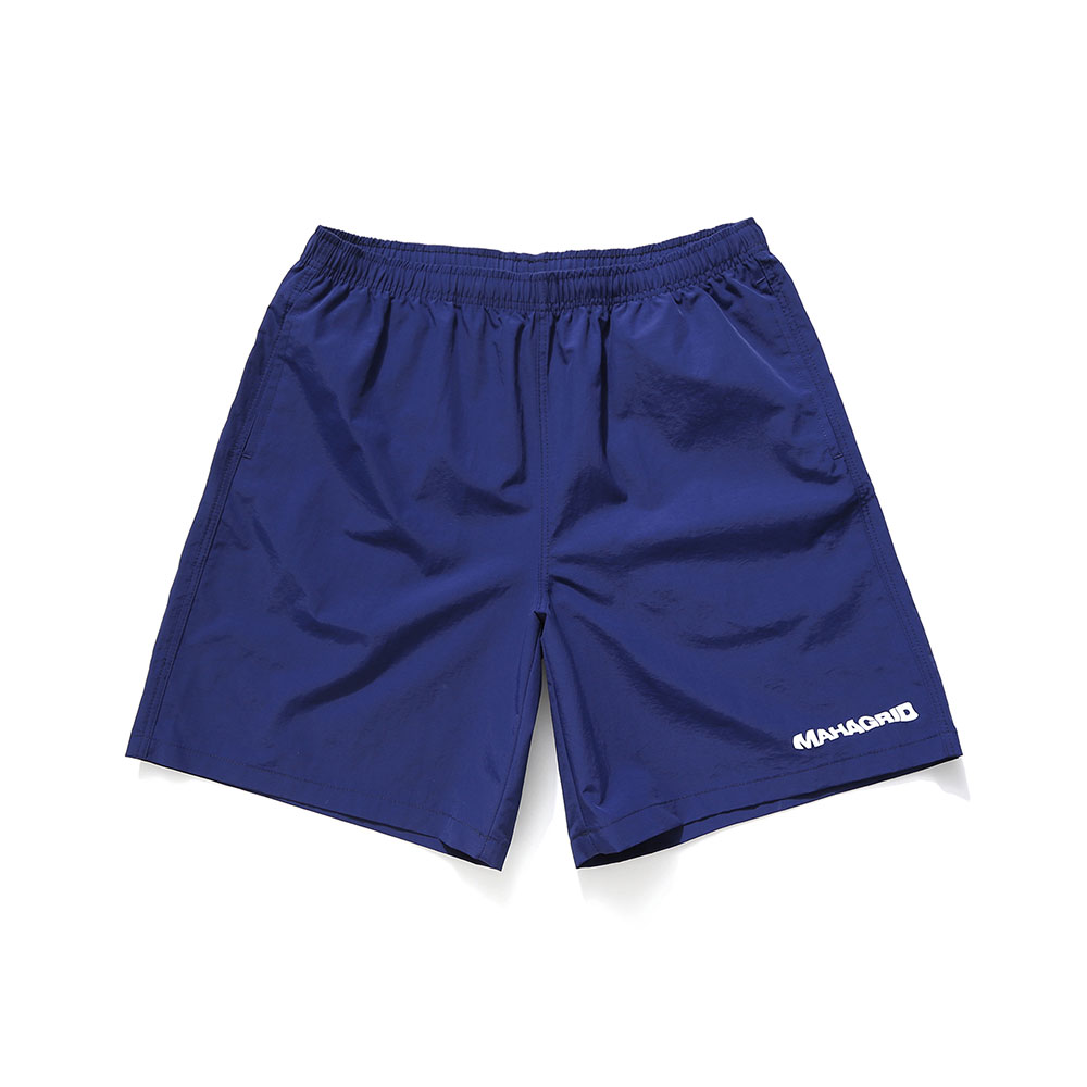 WAVY LOGO SHORTS[NAVY]