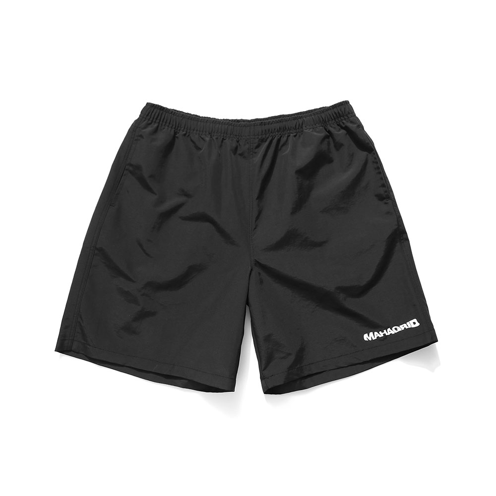 WAVY LOGO SHORTS[BLACK]