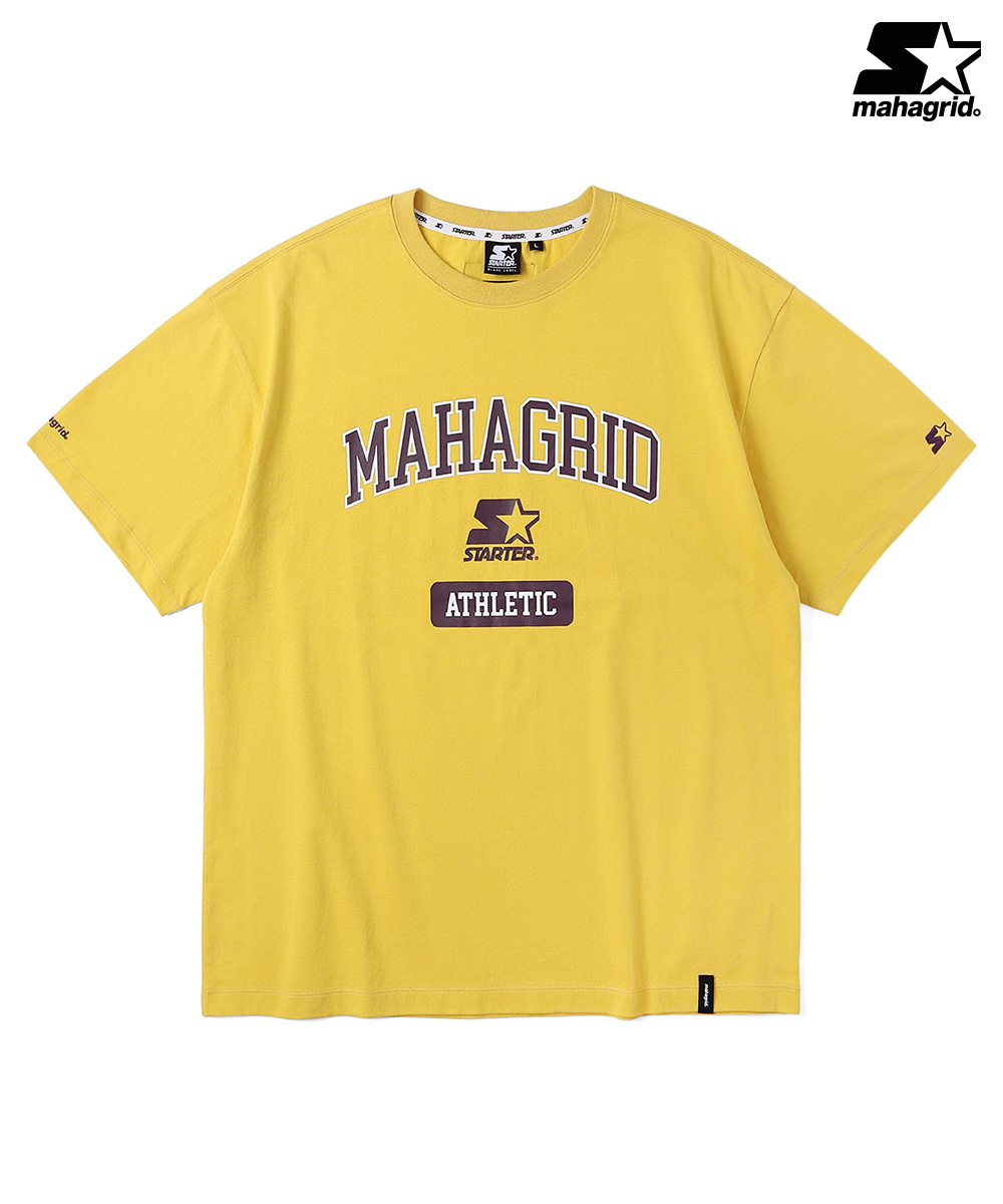 STR X MGD COLLEGE LOGO TS[YELLOW]