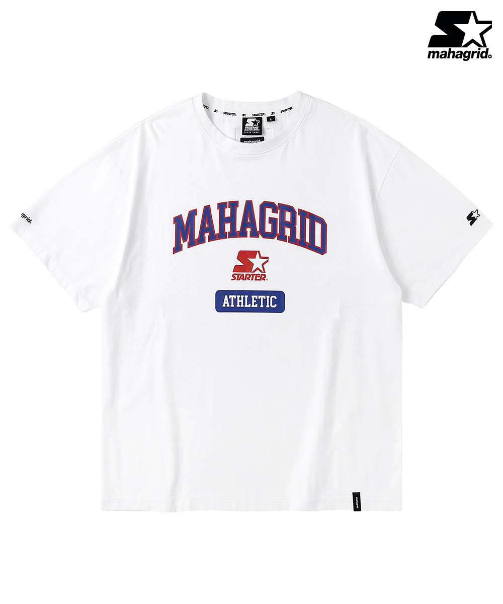 STR X MGD COLLEGE LOGO TS[WHITE]